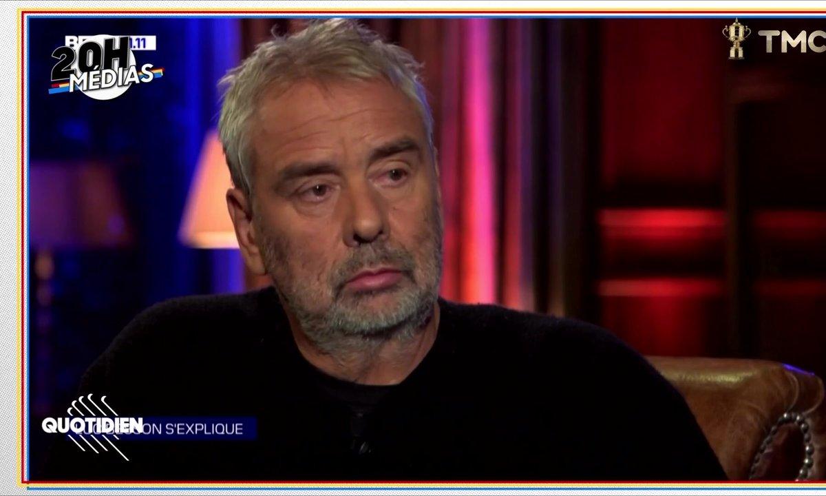 20h Médias : BFMTV a-t-elle déroulé le tapis rouge à Luc Besson ?