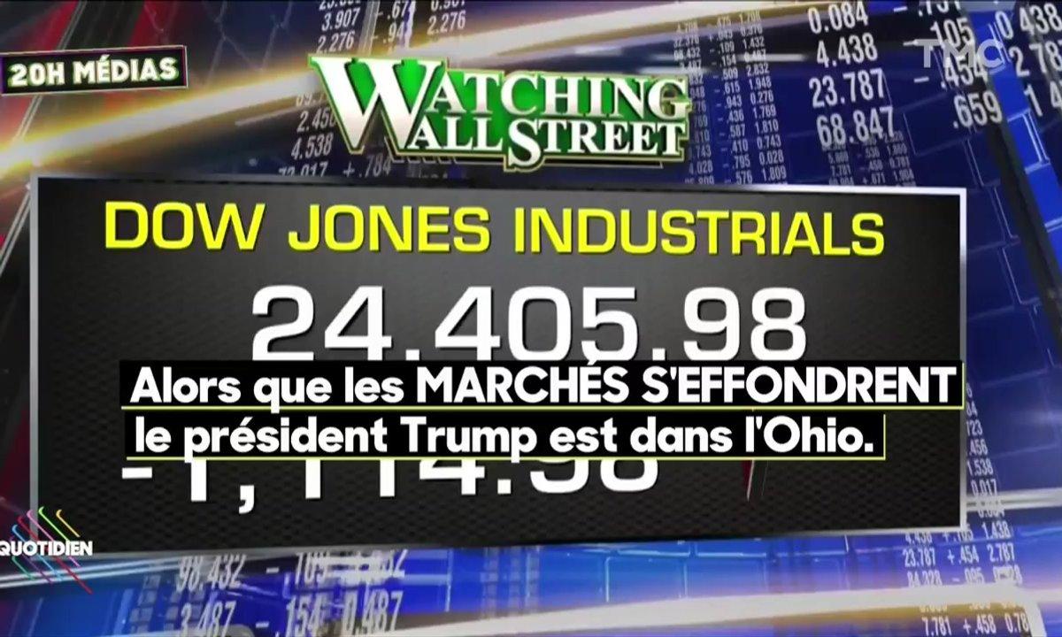 20h Médias : journée de panique à Wall Street