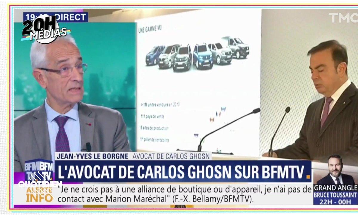 20h Médias : comment Carlos Ghosn orchestre sa contre-offensive depuis la prison