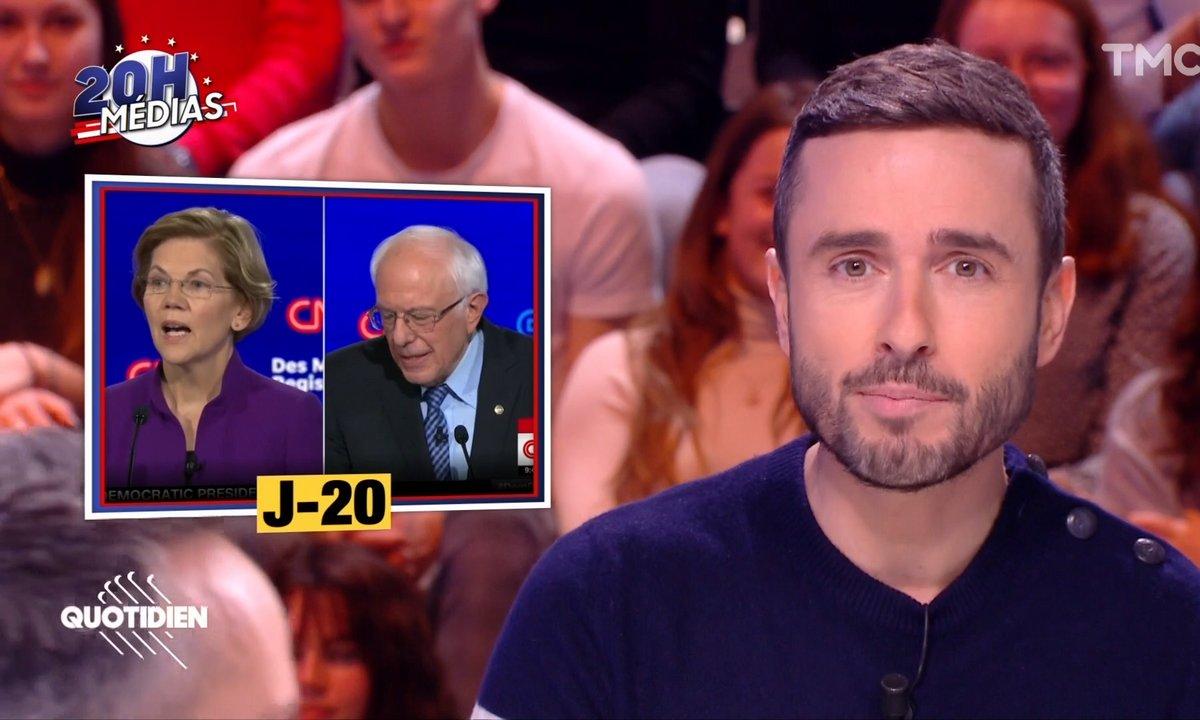 20h Médias : ce qu'il faut retenir du dernier débat démocrate aux États-Unis