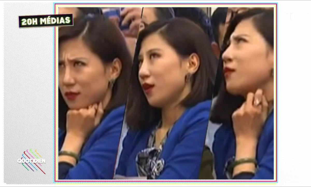 20h Médias – Chine : blacklistée pour avoir levé les yeux au ciel