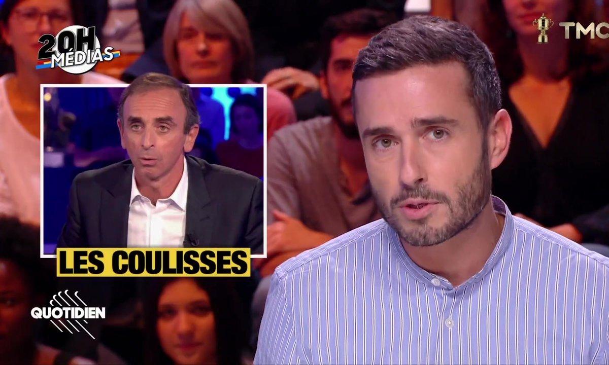 20h Médias : les coulisses de l'arrivée d'Eric Zemmour sur CNEWS