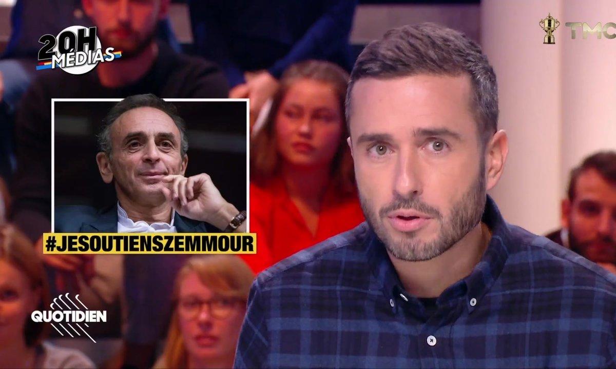 """20h Médias : qui est derrière le hashtag """"Je soutiens Zemmour"""" ?"""