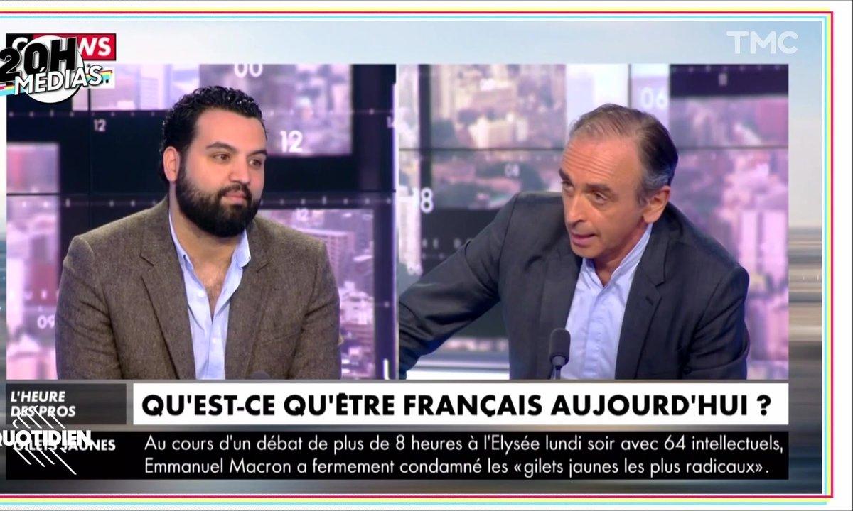 20h Médias : dialogue de sourds entre Yassine Belattar et Eric Zemmour