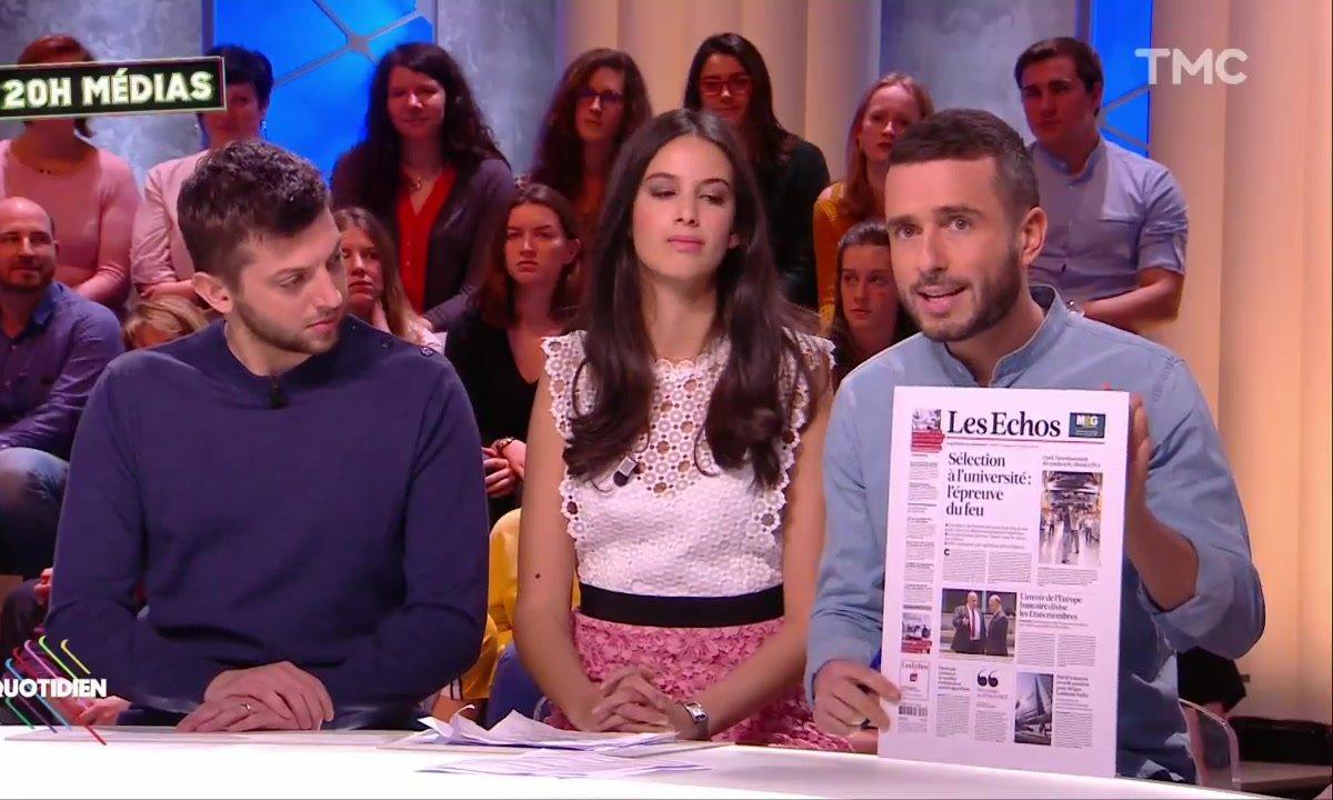 20h Médias : Les Echos refusent de publier une interview d'Elisabeth Borne, trop réécrite par Matignon