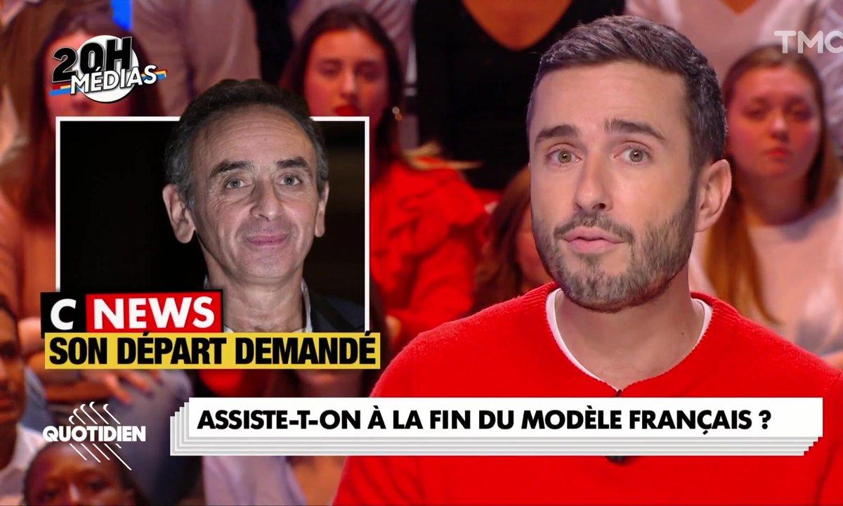 20h Médias : Eric Zemmour peut-il être viré de Canal après la motion de censure des salariés ?