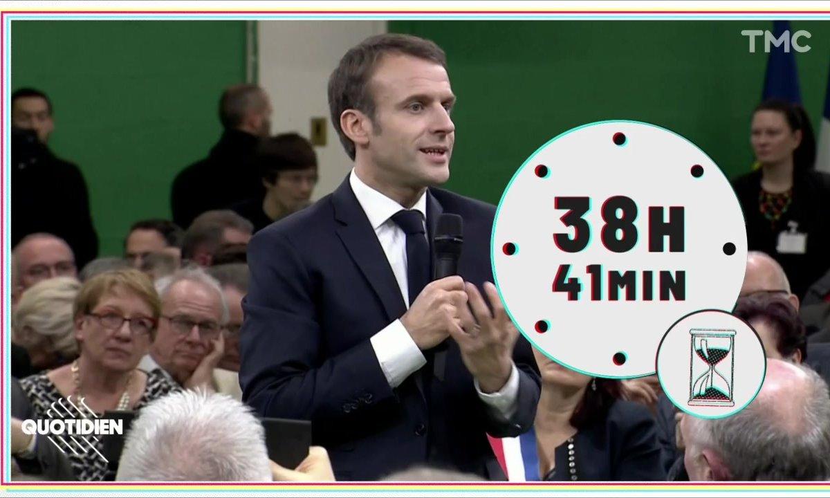 20h Médias : faut-il comptabiliser le temps de parole d'Emmanuel Macron dans le grand débat ?
