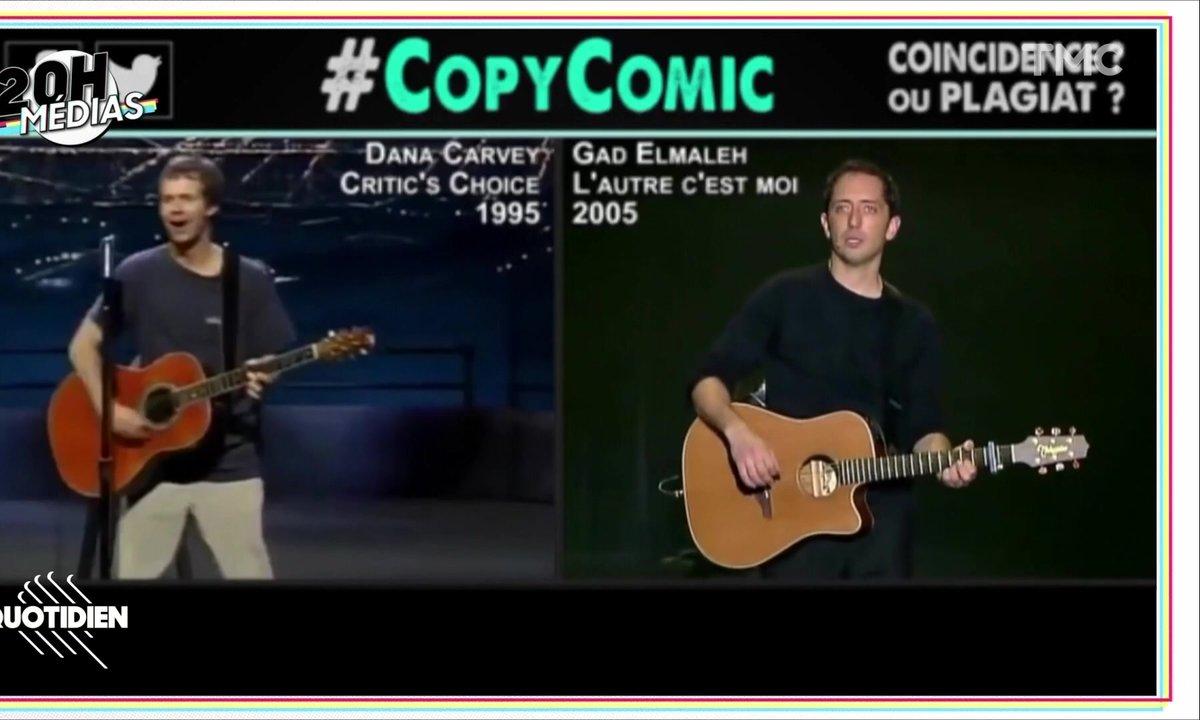 20h Médias : Gad Elmaleh veut connaître l'identité de CopyComic, le Youtubeur qui l'accuse de plagiat