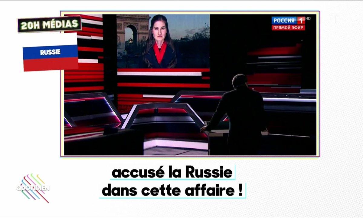 20h Médias : la garde à vue de Nicolas Sarkozy fait bien marrer la Russie