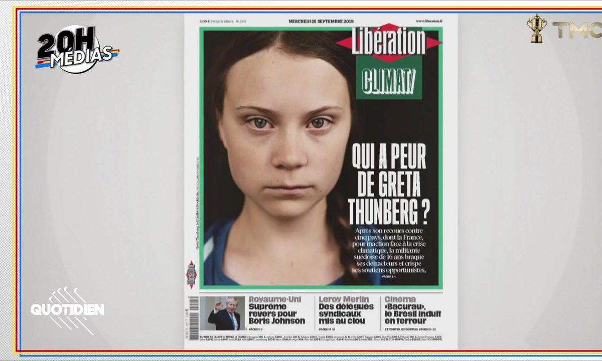 20h Médias : le Greta Thunberg bashing