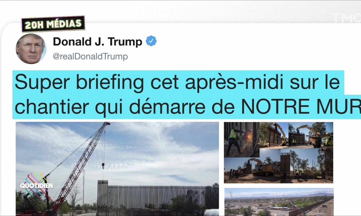 20h Médias : la grosse fake news de Donald Trump