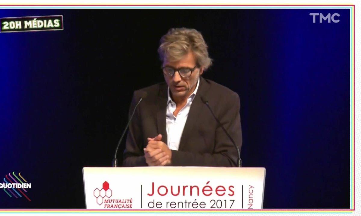 20h Médias : Guy Lagache à la Mutualité française, un ménage qui fait désordre
