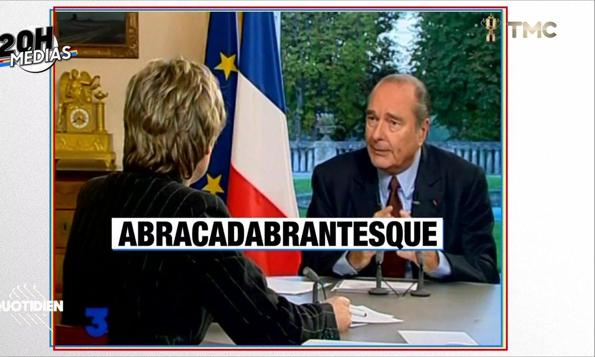 20h Médias : Jacques Chirac et la presse, entre pudeur et punchlines