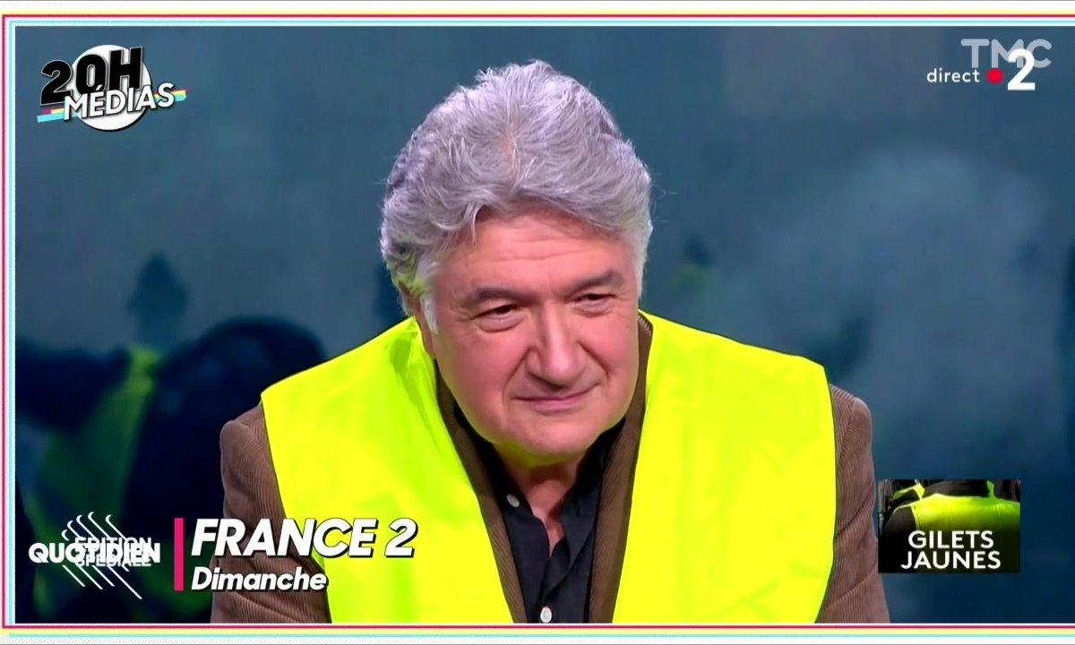 20h Médias : Jean-François Barnaba, le gilet jaune superstar