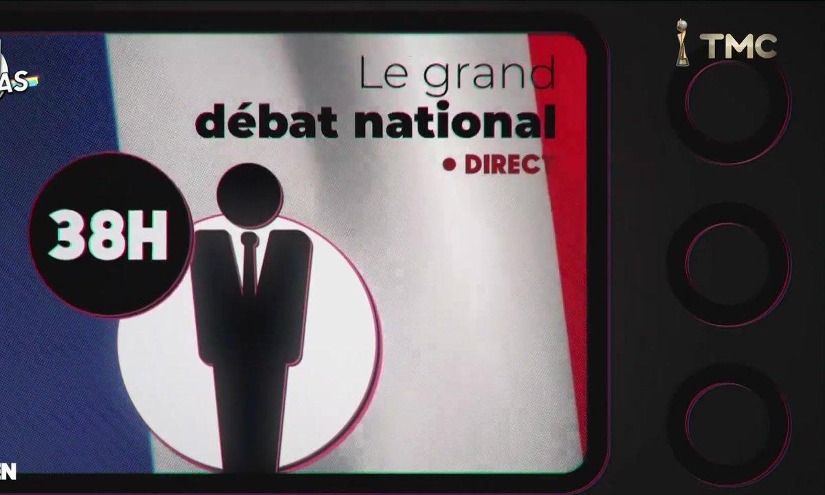 20h Médias : l'année de la surreprésentation médiatique d'Emmanuel Macron