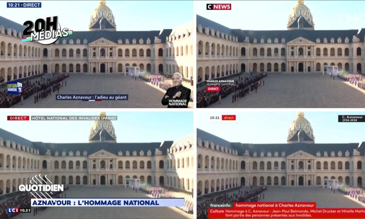 20h Médias : l'hommage à Charles Aznavour