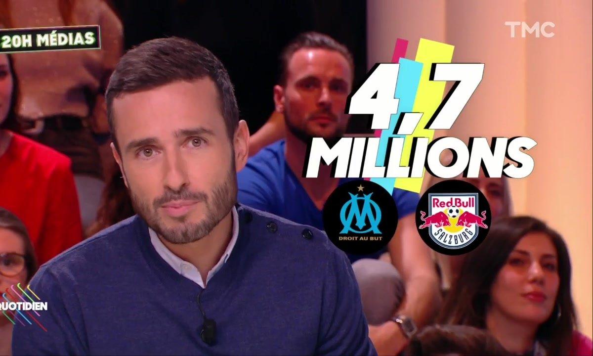 20h Médias : l'OM assure un carton à M6