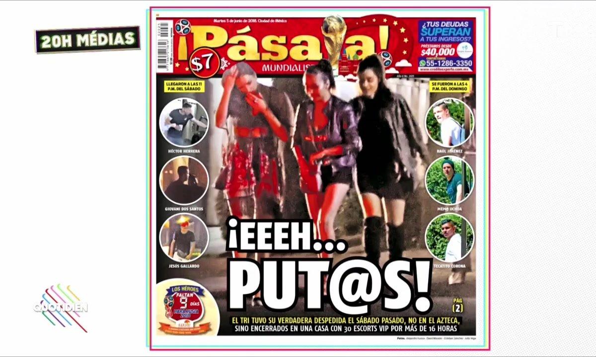 20h Médias : l'orgie sexuelle de la sélection mexicaine de football