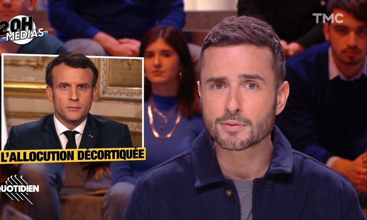 20h Médias : les coulisses de l'allocution d'Emmanuel Macron