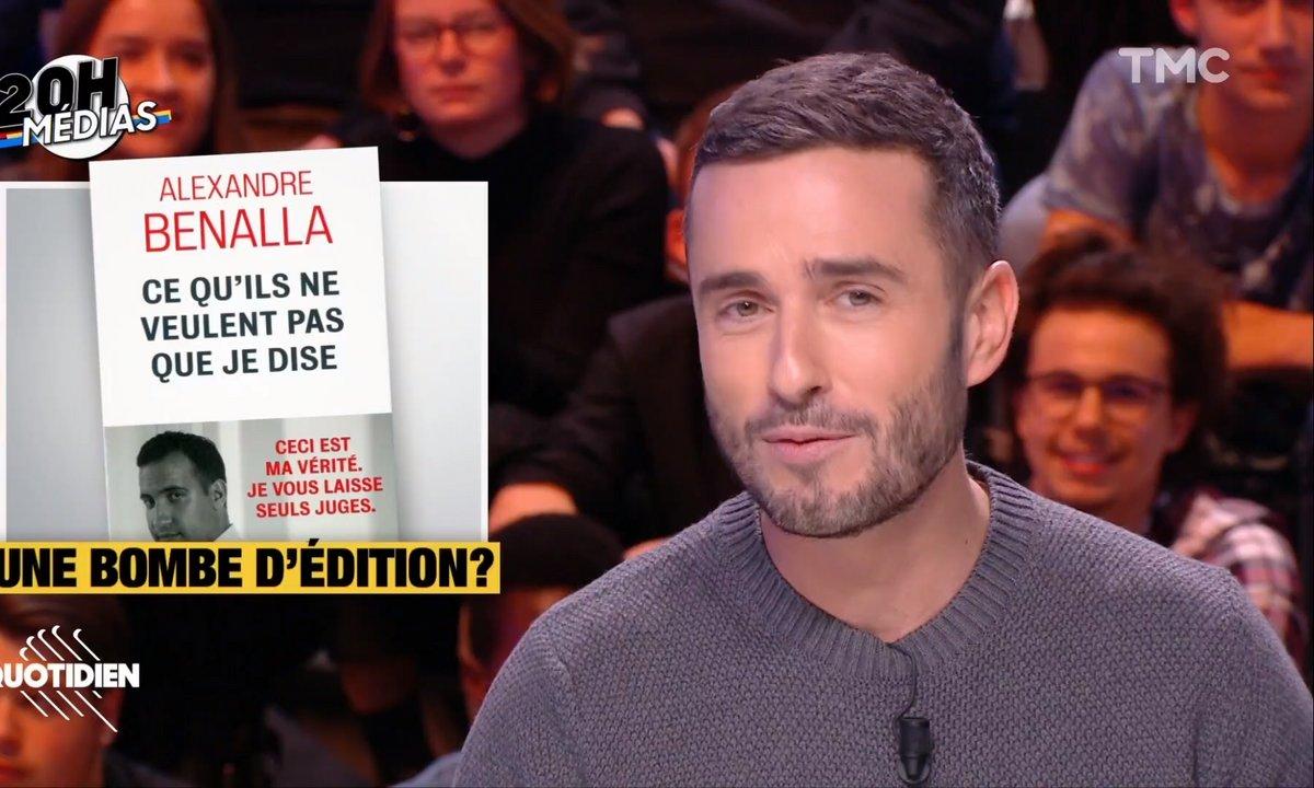 20h Médias : la com' secrète autour du livre d'Alexandre Benalla