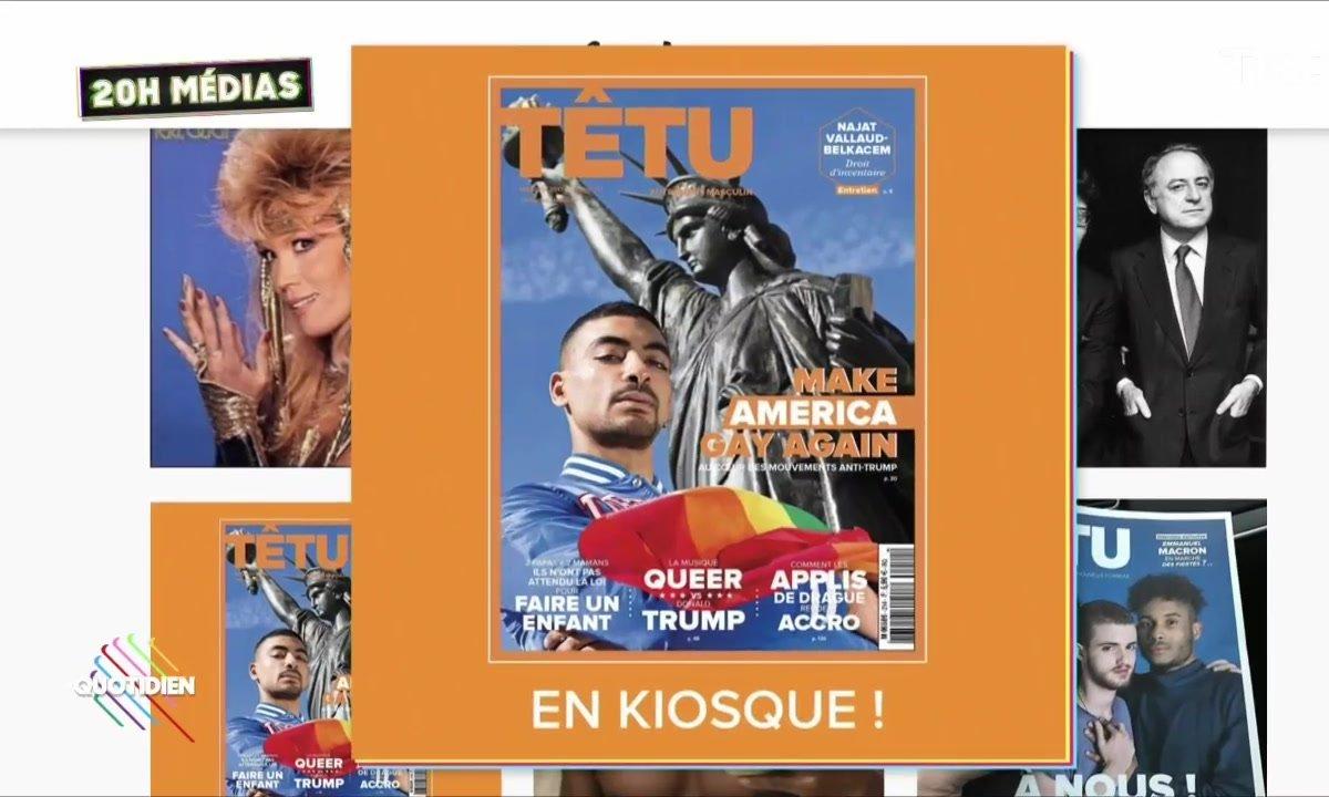 20h Médias : le magazine Têtu renaît de ses cendres
