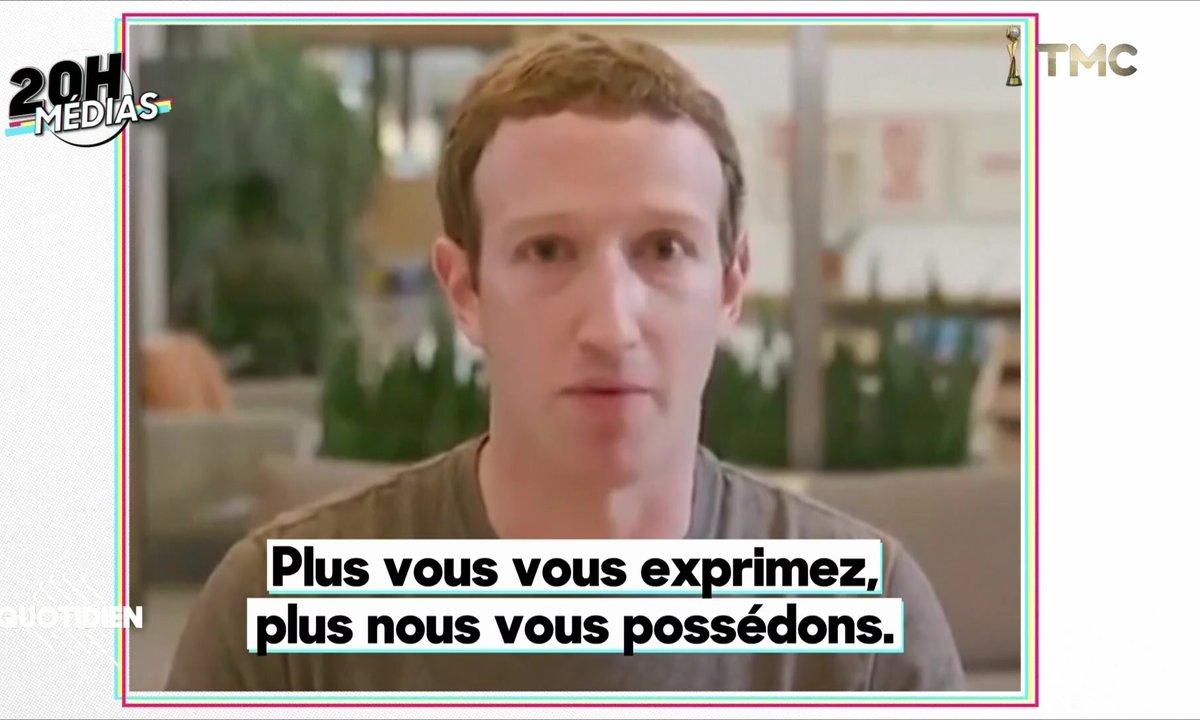 "20h Médias : Mark Zuckerberg visé par une ""deepfake"", une vidéo truquée"