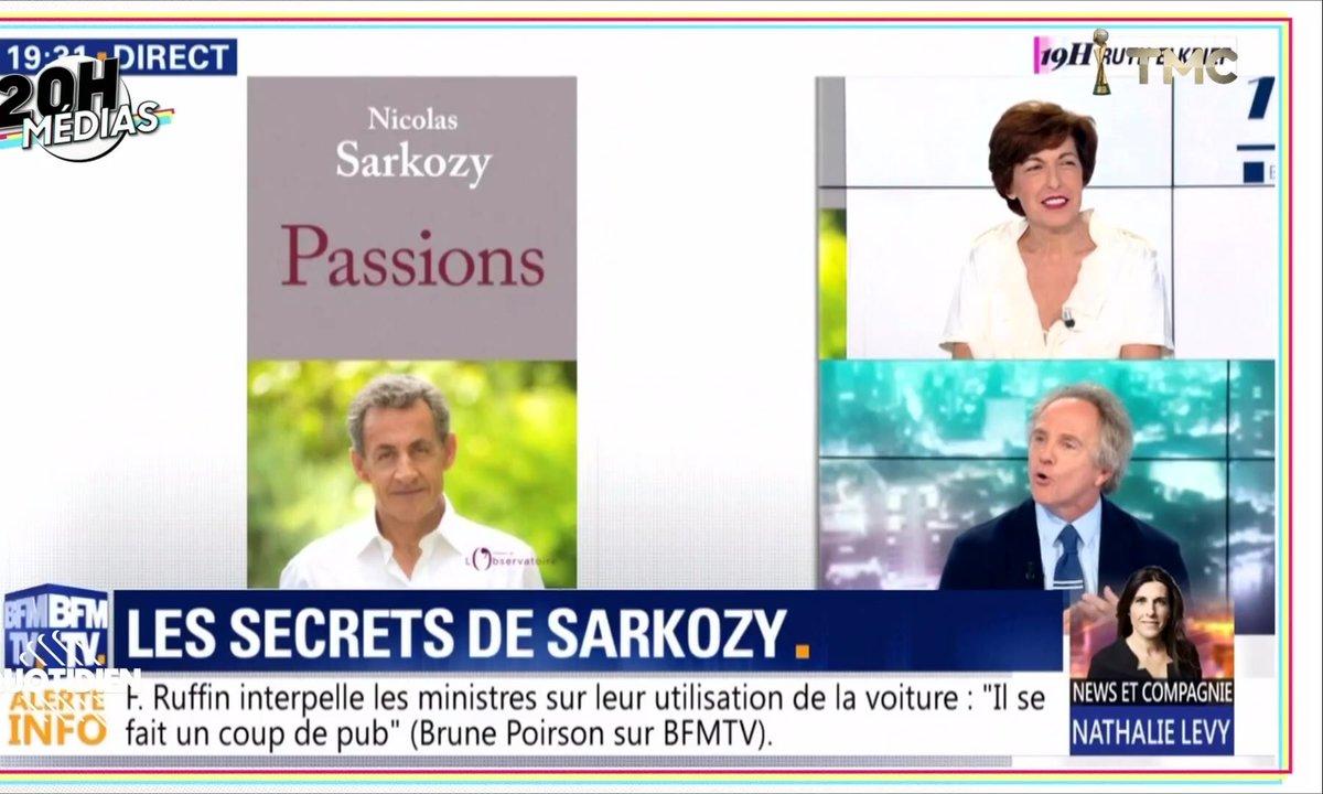 20h Médias : matraquage autour du dernier livre de Nicolas Sarkozy