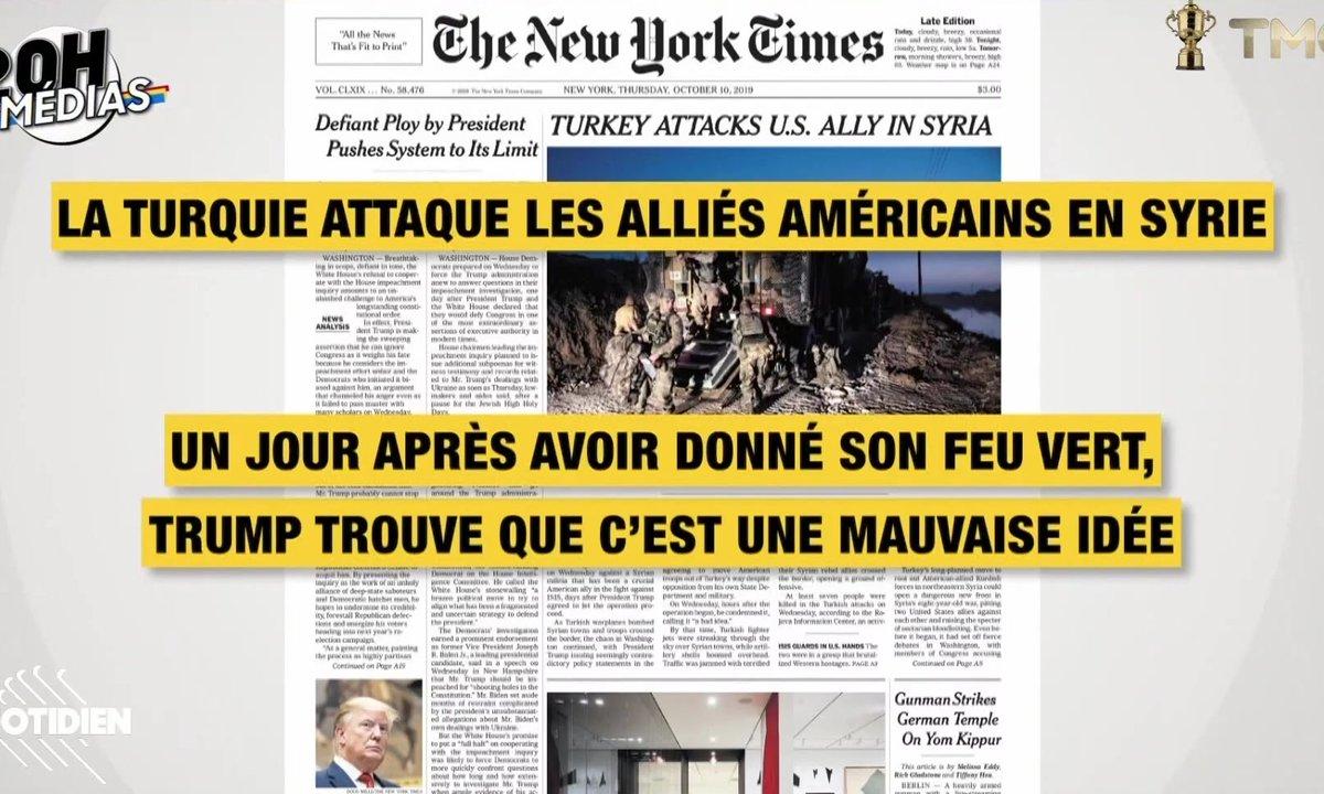 20h Médias : les médias exaspérés par Donald Trump (oui, même Fox News)