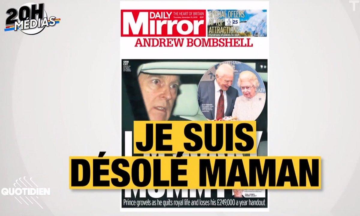 20h Médias : mis en cause dans l'affaire Epstein, le prince Andrew éjecté de la vie publique