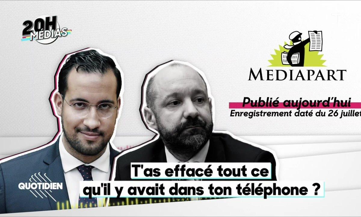 20h Médias : nouvelle écoute accablante pour Alexandre Benalla et Vincent Crase