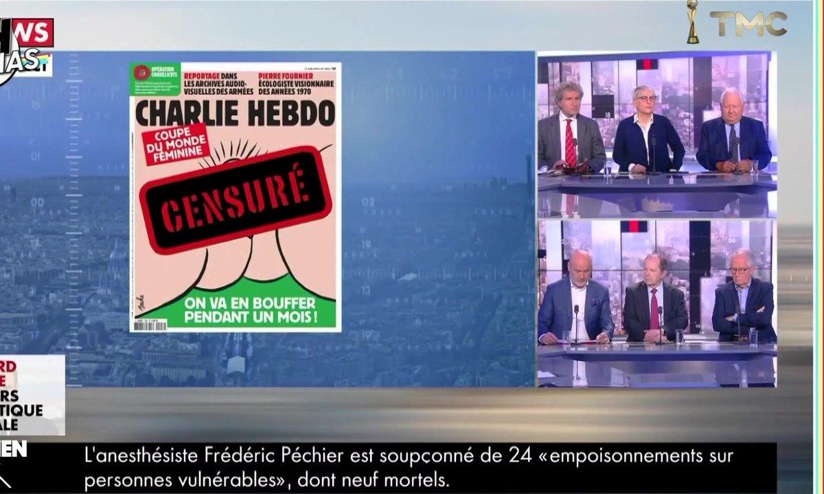 20h Médias : pourquoi certains médias n'ont-ils pas diffusé la Une polémique de Charlie Hebdo ?