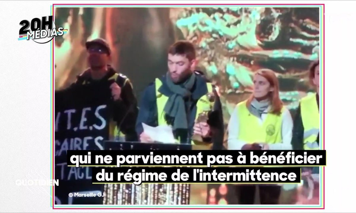20h Médias : pourquoi France 2 a-t-elle coupé le happening des gilets jaunes pendant les Molières ?