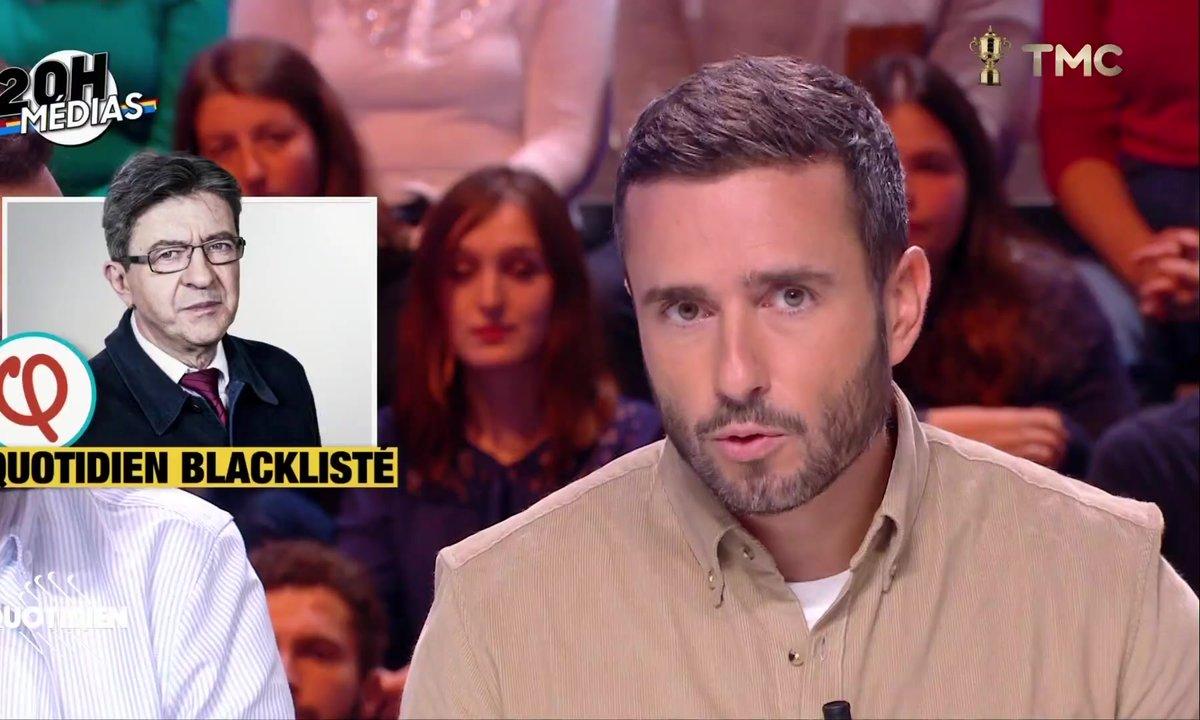 20h Médias: pourquoi la France insoumise blackliste (entre autre) Quotidien