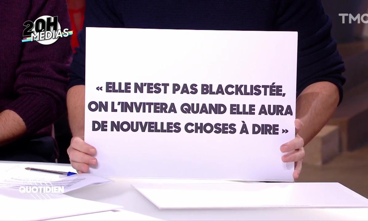 20h Médias : pourquoi Nadine Morano n'est-elle jamais sur France Inter ?