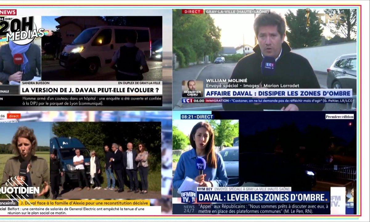 20h Médias : la reconstitution du meurtre d'Alexia Daval