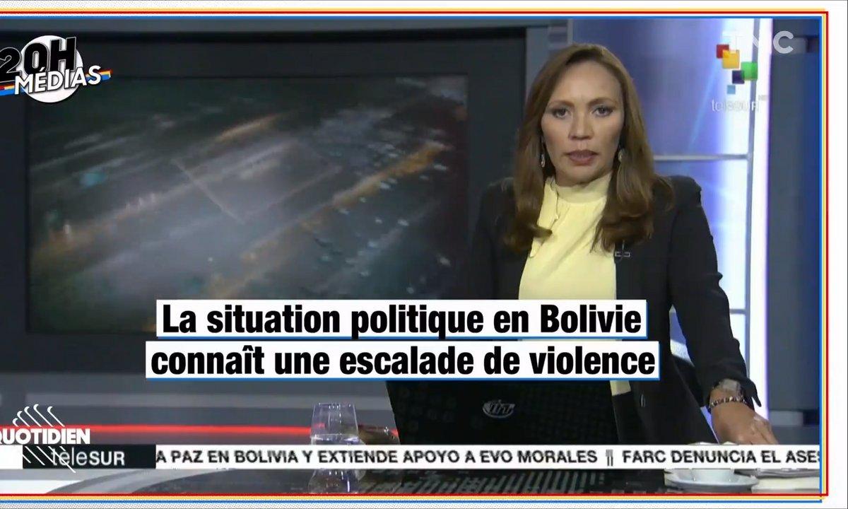 20h Médias : que se passe-t-il en Bolivie ?