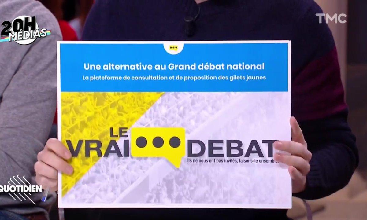 20h Médias : le site des gilets jaunes qui veut concurrencer le Grand débat