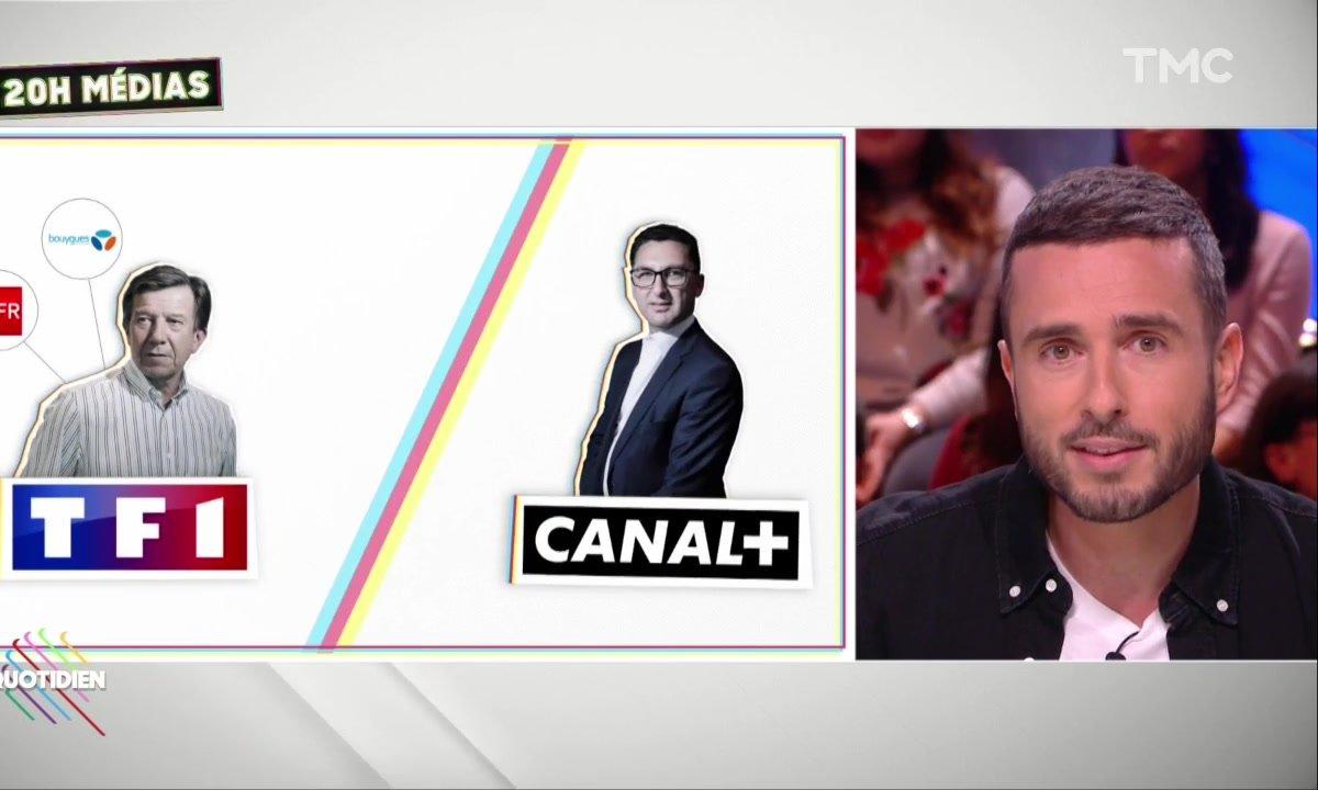 20h Médias : TF1 vs Canal +, la crise continue