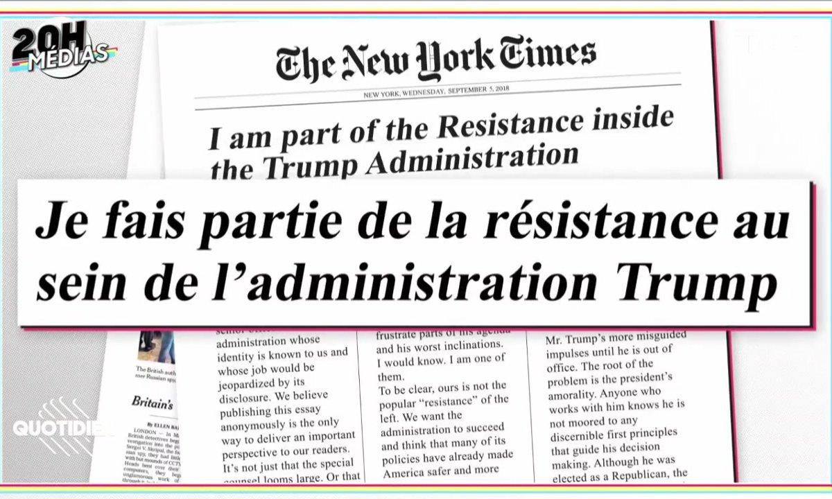20h Médias : la tribune anti-Trump du New York Times