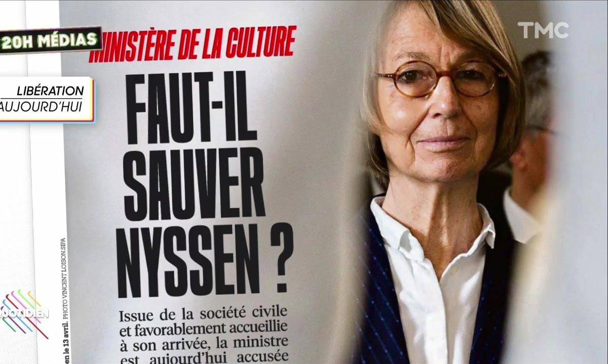 20h Médias : qui veut la peau de Françoise Nyssen ?