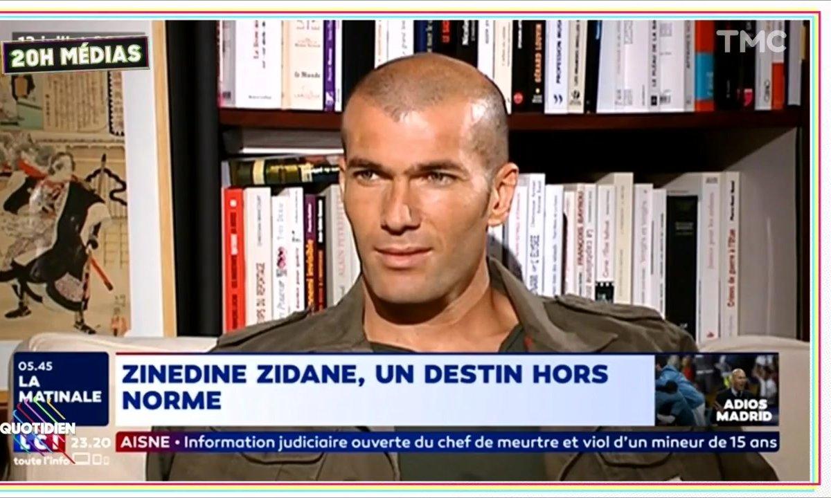 20h Médias : Non, Zidane n'est pas mort