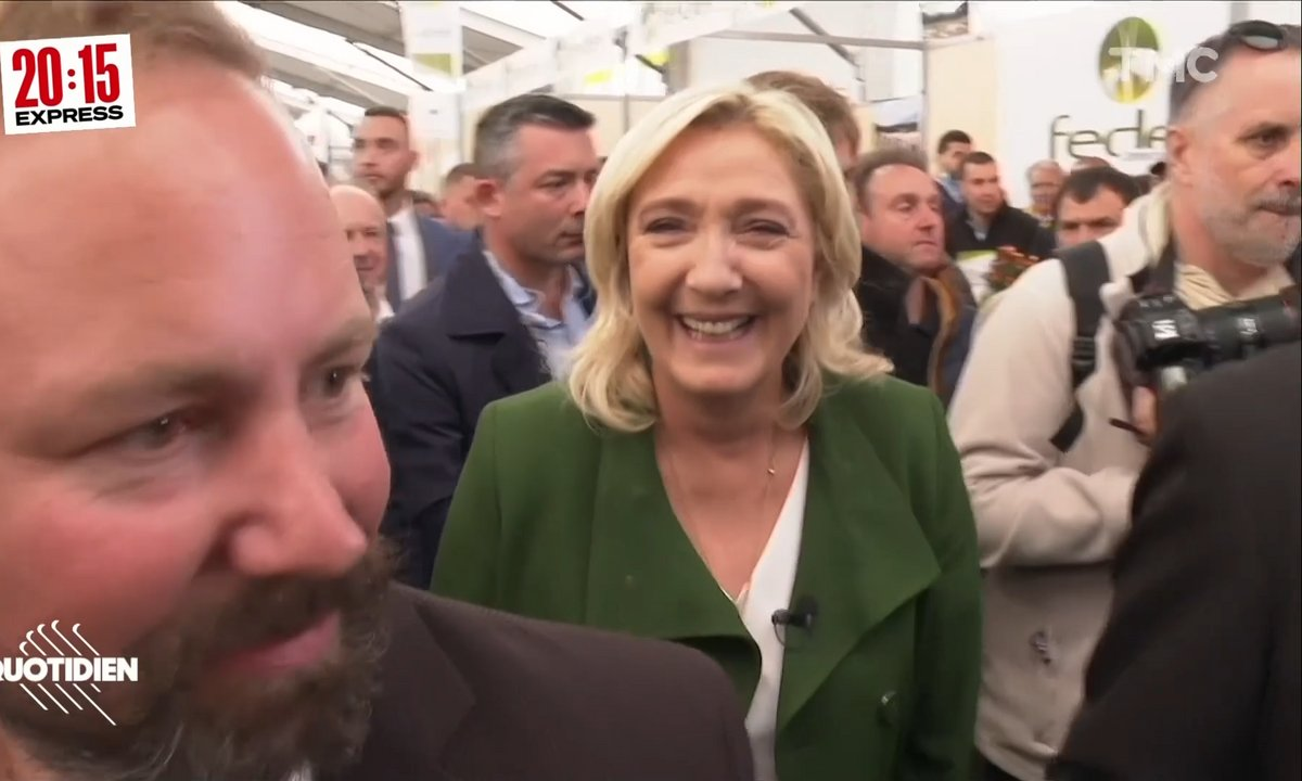 20h15 Express : Marine Le Pen et le sourire du désespoir