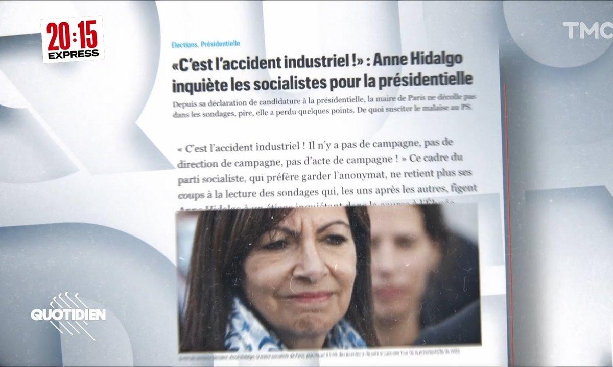 20h15 Express – Présidentielle 2022 : la gauche a-t-elle fait une erreur de casting avec Anne Hidalgo ?
