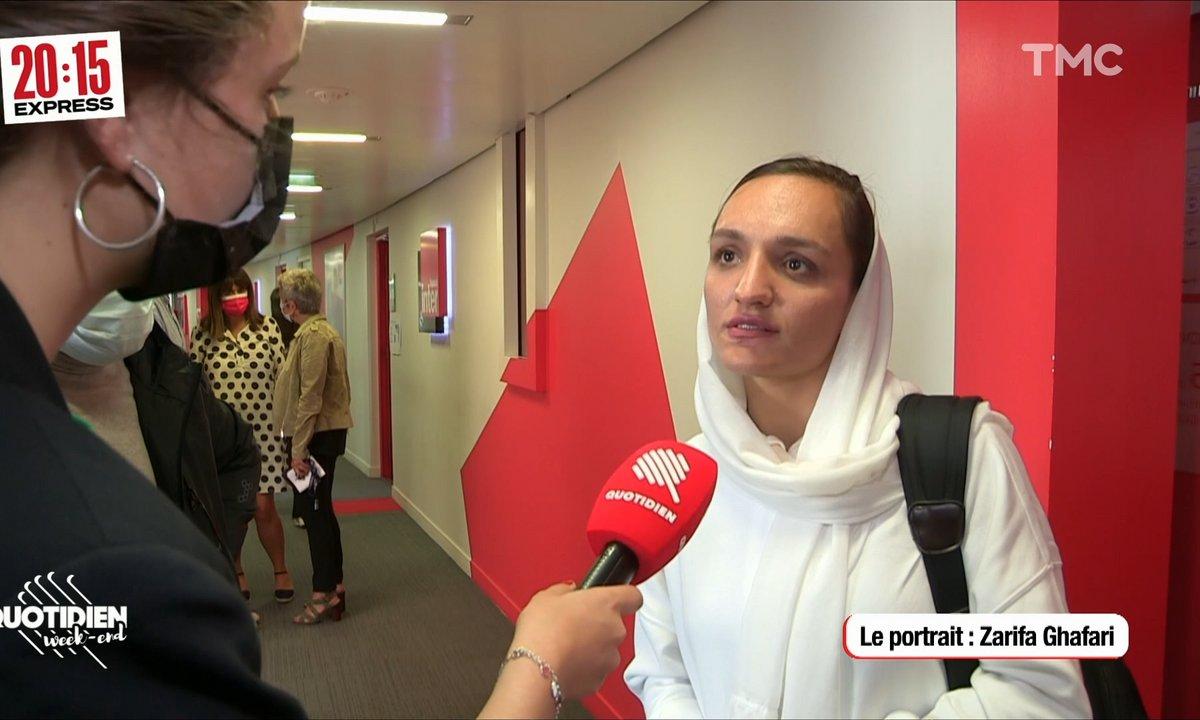 20h15 Express : Zharifa Ghafari, maire afghane en exil