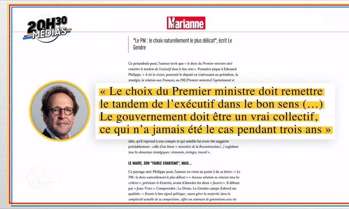 20h30 : Gilles Le Gendre charge le gouvernement dans une note plus si confidentielle