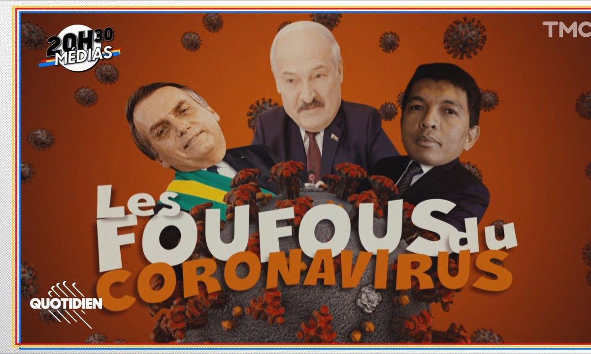 20h30 Médias : ces présidents qui pensent avoir trouvé le remède miracle contre le Covid-19