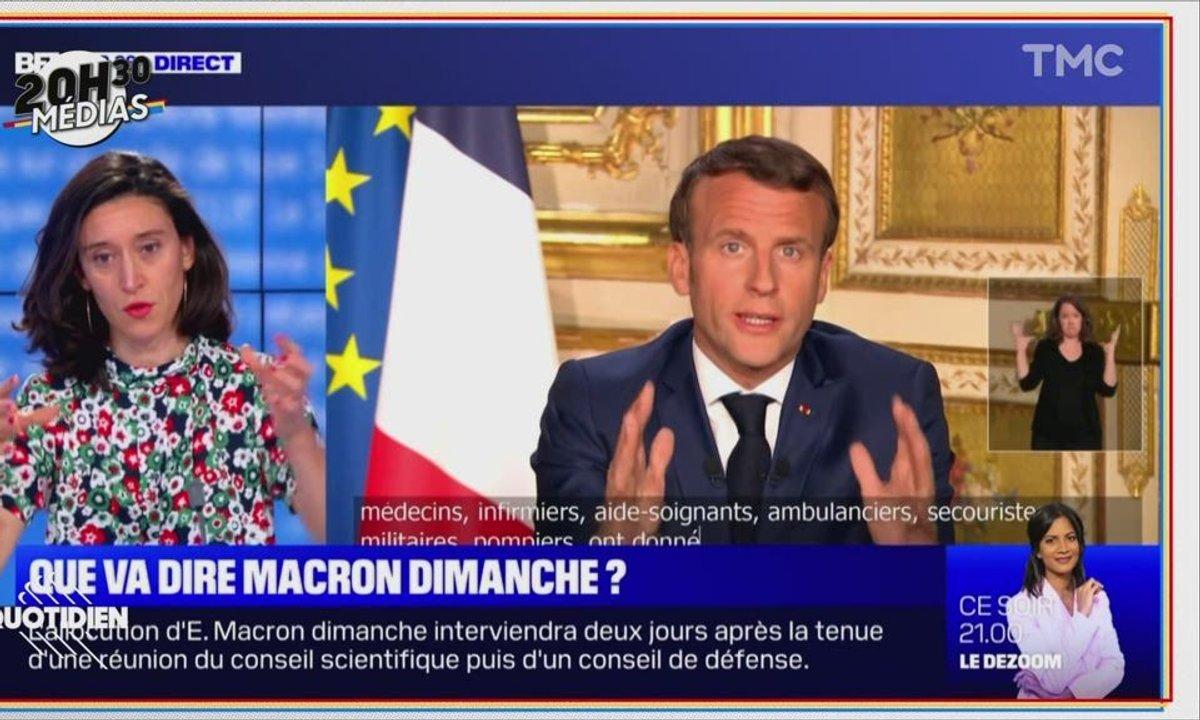 20h30 Médias : comment Emmanuel Macron distille sa com' avant son allocution