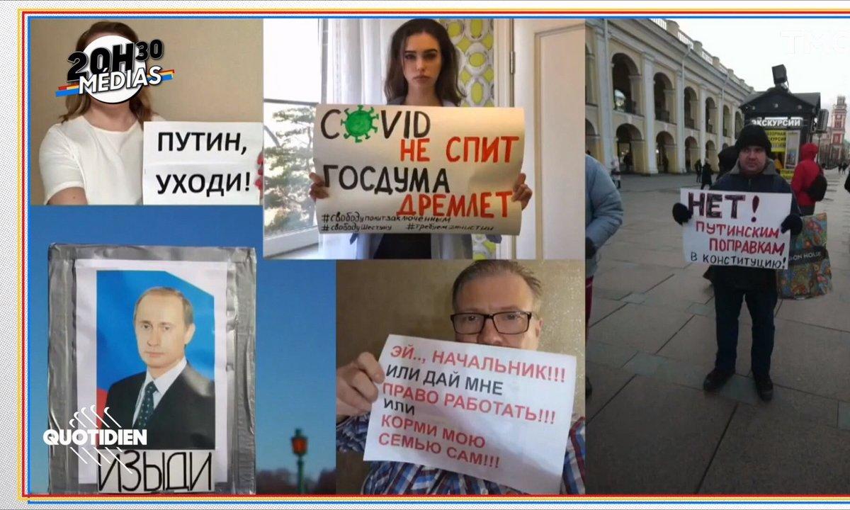 20h30 Médias : la Russie manifeste depuis son salon, le Didier Raoult Suédois et l'agacement d'Emmanuel Macron, …