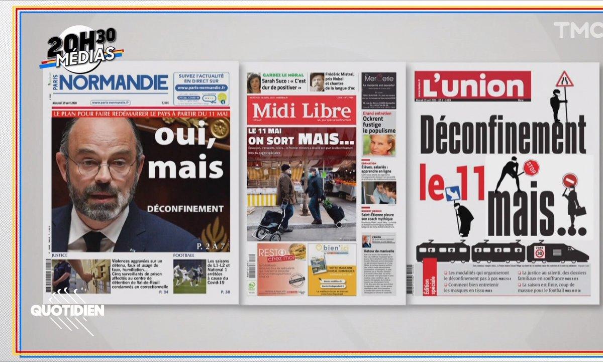 20h30 Médias : le debrief glacial du discours d'Edouard Philippe