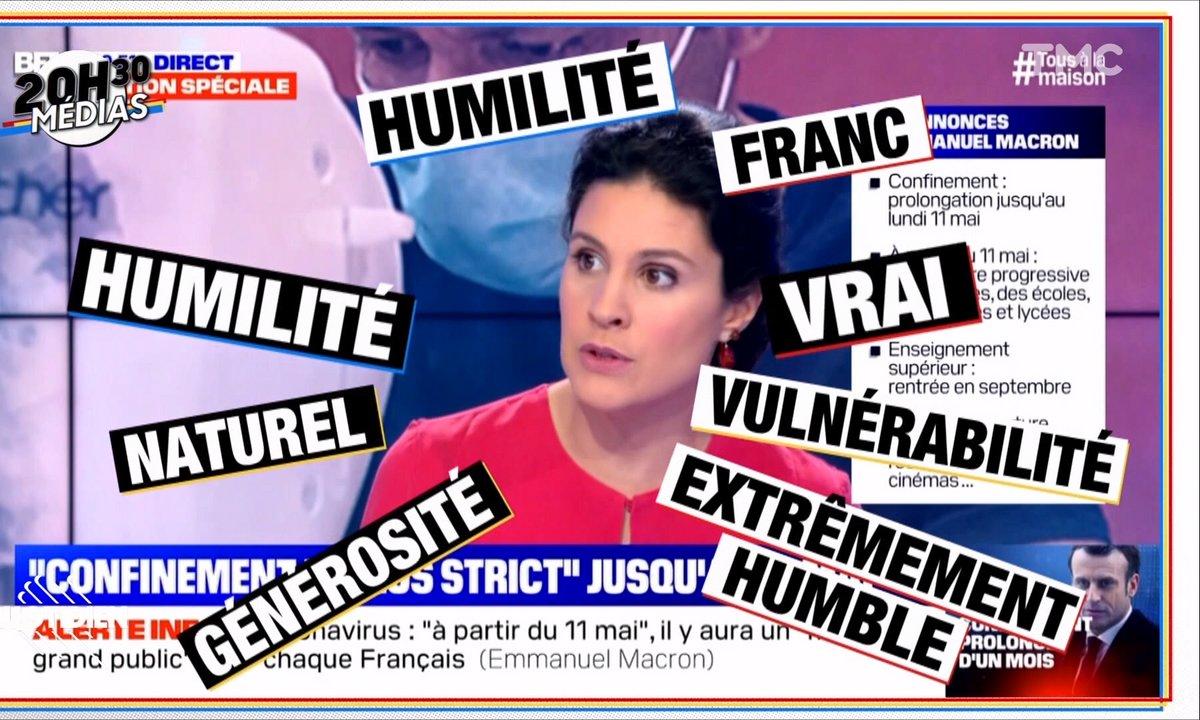 20h30 Médias : l'hallucinant débrief de l'allocution d'Emmanuel Macron sur BFMTV
